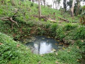 Die alte Kigaaza Wasserstelle