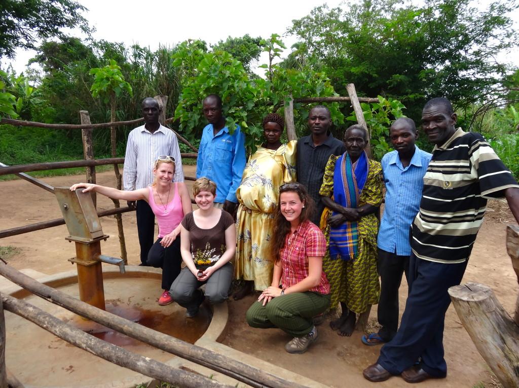 Wasserkomittee in der Nyabusojo-Gemeinde