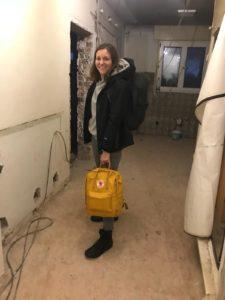 Bea Paessler auf dem Weg nach Nepal